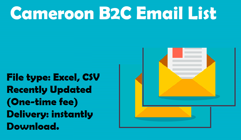 Cameroon B2C Email List