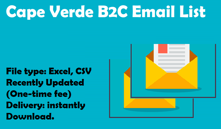 Cape Verde B2C Email List
