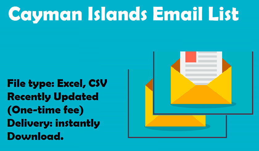 Cayman Islands Email List