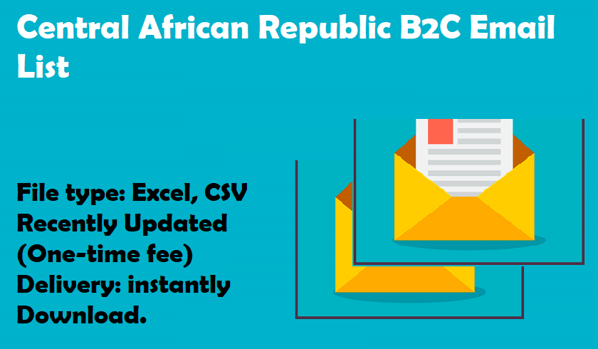 Central African Republic B2C Email List