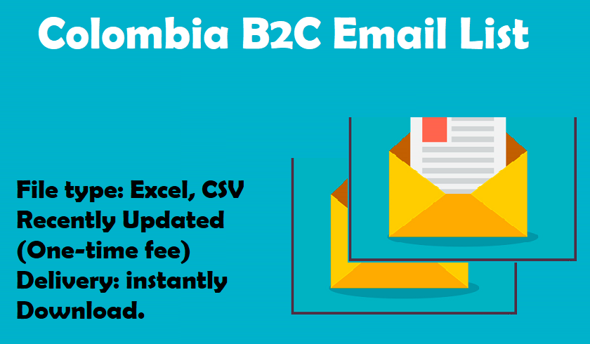 Colombia B2C Email List
