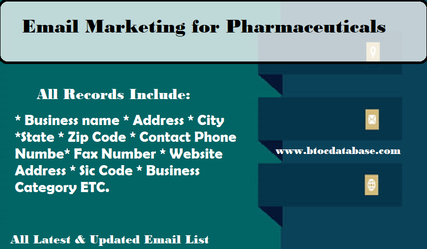 Email Marketing for Pharmaceuticals