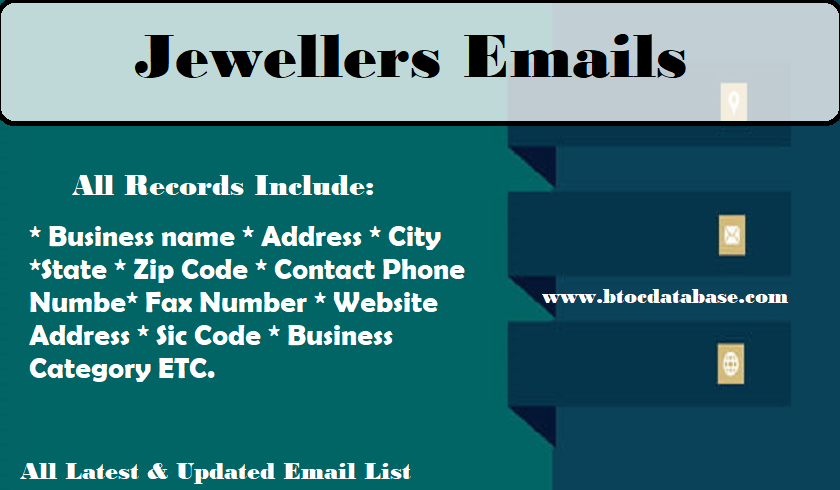 Jewellers Emails
