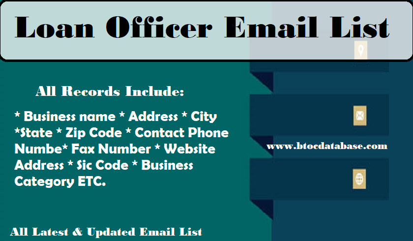Loan Officer Email List