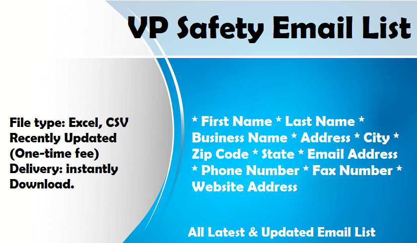 VP Safety Email List