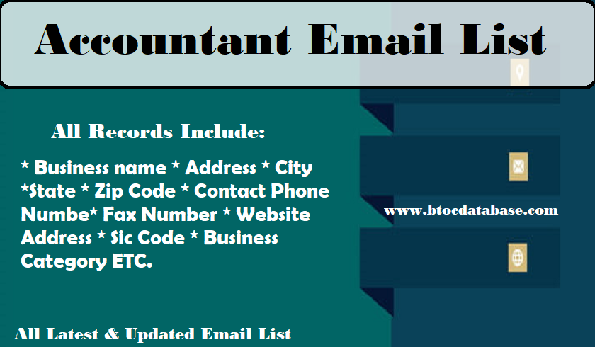 Accountant Email List