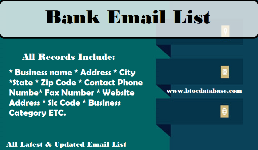 Bank Email List