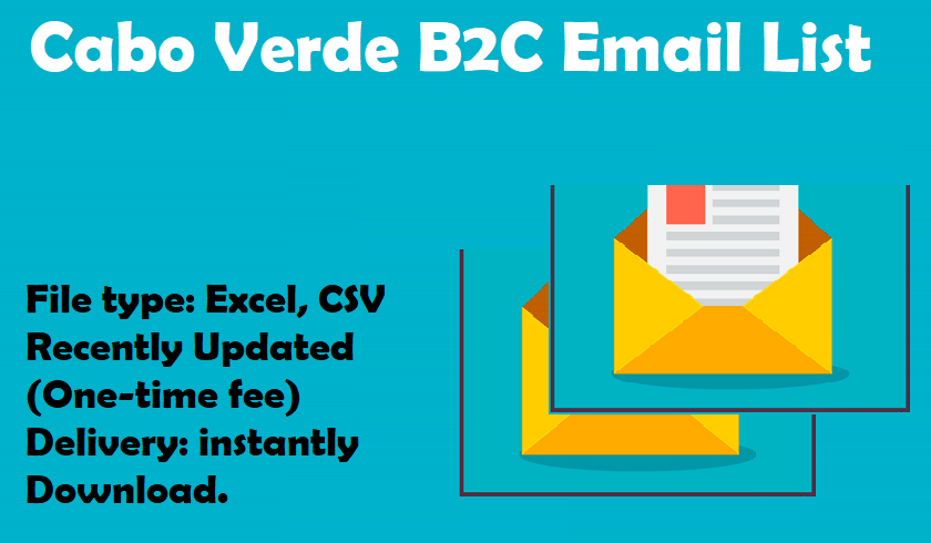 Cabo Verde B2C Email List
