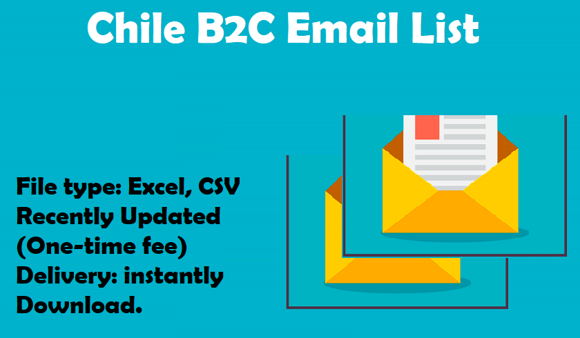 Chile B2C Email List