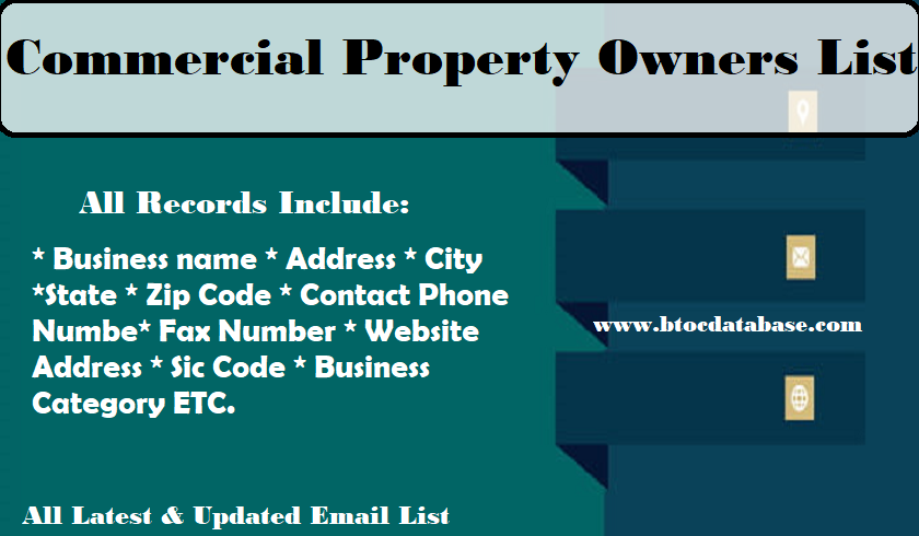 Commercial Property Owners List