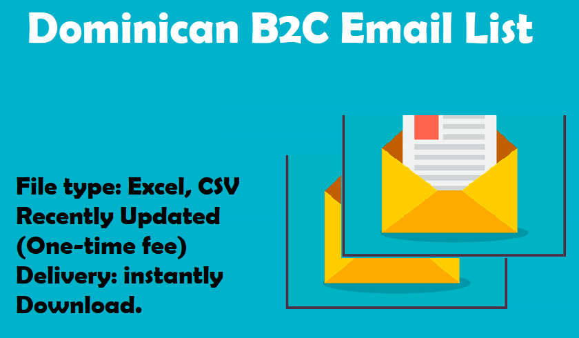 Dominican B2C Email List