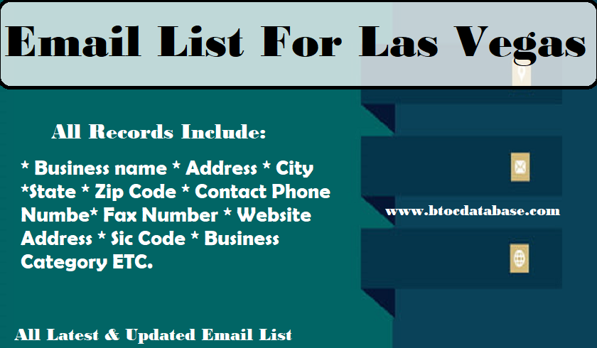 Email List For Las Vegas
