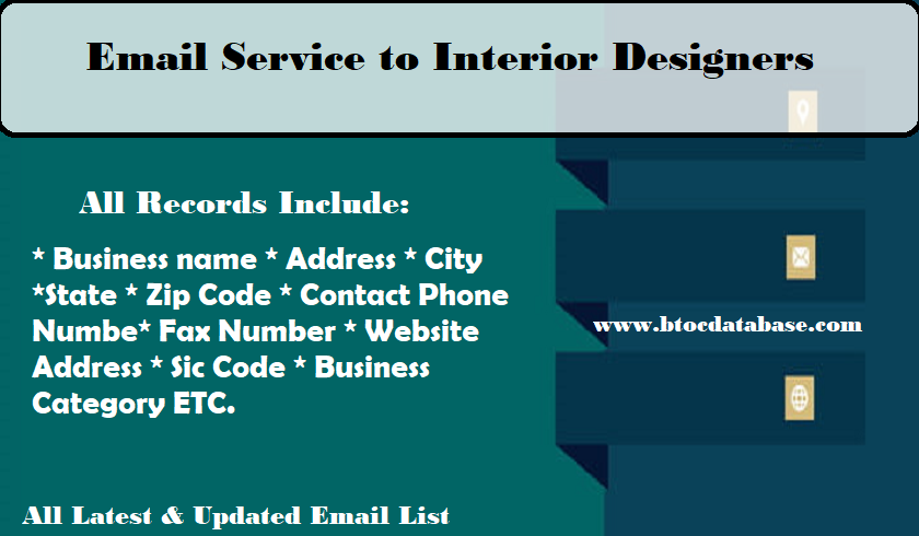 Email Service to Interior Designers