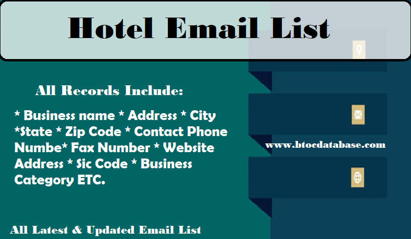 Hotel Email List
