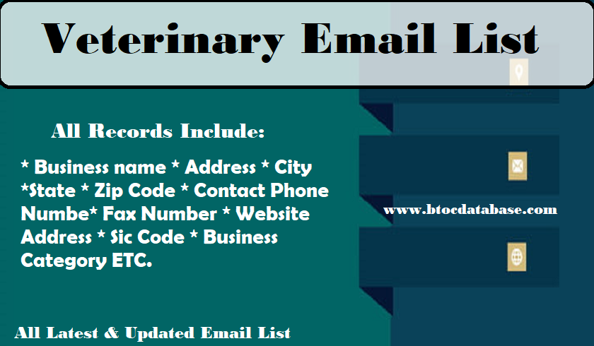 Veterinary Email List