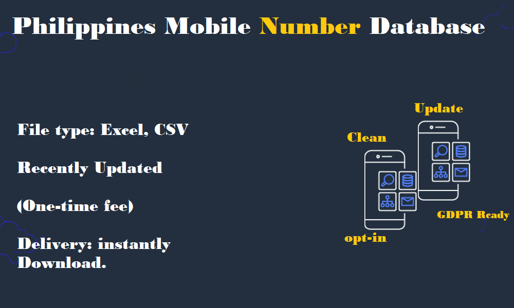 Philippines Mobile Number Database